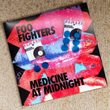 "Foo Fighters ""Medicine At Midnight"" Record Earrings"