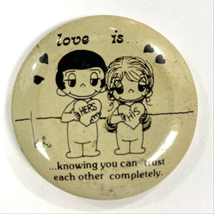 Love is…Pin