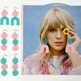 "Taylor Swift ""Lover"" Record Earrings"