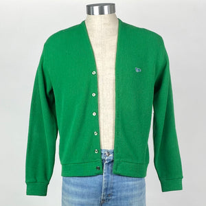 Green Grandpa Cardigan
