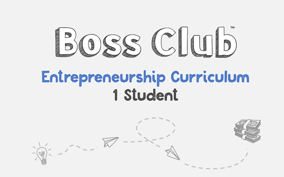 Single Student - Boss Club Entrepreneurship Curriculum