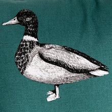 Load image into Gallery viewer, Turquoise Duck Cushion Cover SALE! FREE P & P