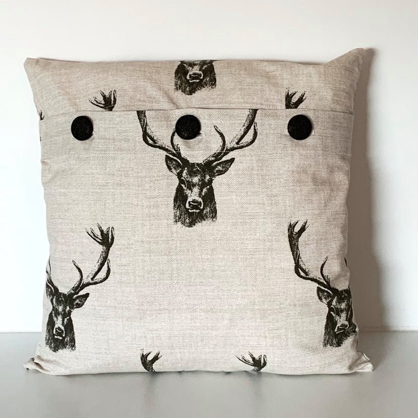 Stag Cushion Cover SALE! FREE P & P