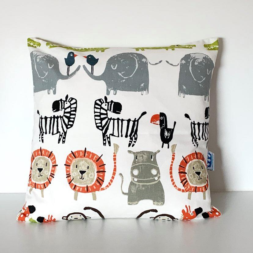 Jungle Animal Children's Cushion Cover SALE! FREE P & P