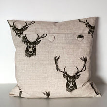 Load image into Gallery viewer, Stag Cushion Cover SALE! FREE P & P