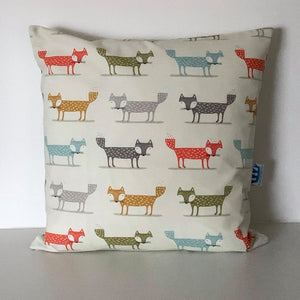Retro Fox Cushion Cover SALE! FREE P & P