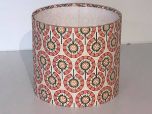 Pink Geometric Lamp Shade