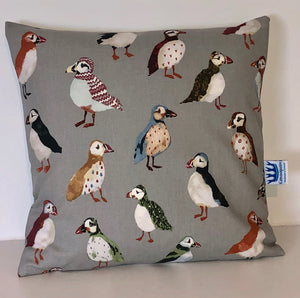 Puffin Cushion