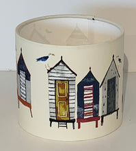 Load image into Gallery viewer, Beachcomber Beach Huts Lamp Shade
