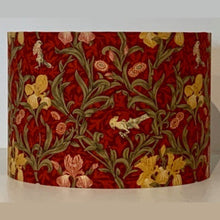 Load image into Gallery viewer, Crimson Iris Lamp Shade