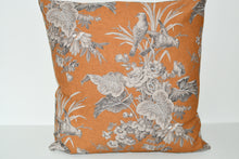 Load image into Gallery viewer, Ochre French Birds Cushion