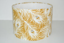 Load image into Gallery viewer, Ochre Feathers Lamp Shade