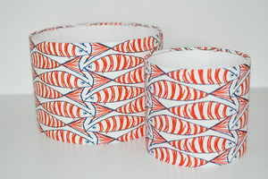 Padstow Cayenne Fish Lamp Shade