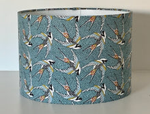 Load image into Gallery viewer, Blue Swallows Lamp Shade