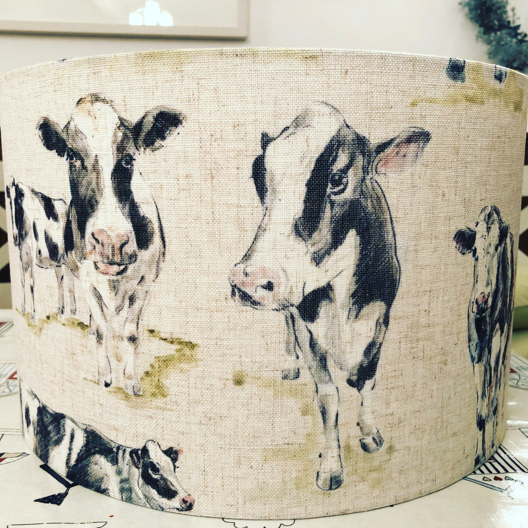 Friesian Cow Lamp Shade