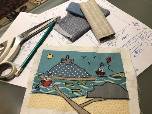 Free Motion Embroidery Applique Picture Workshop - Saturday 21st March 2020