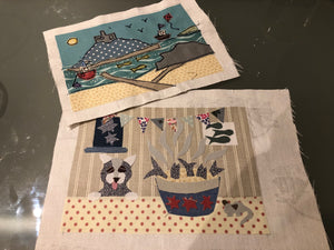 Free Motion Embroidery Applique Picture Workshop - Date TBC