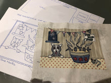 Load image into Gallery viewer, Free Motion Embroidery Applique Picture Workshop - Saturday 21st March 2020