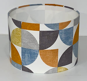Geometric Retro Lamp Shade