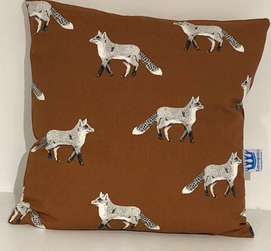 Brown Fox Cushion