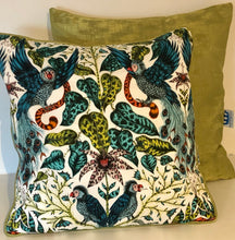 Load image into Gallery viewer, Emma J Shipley White Animalia Cushion