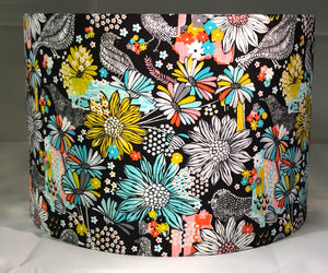 Colourful Retro Lamp Shade