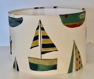 Antique Boats Lamp Shade