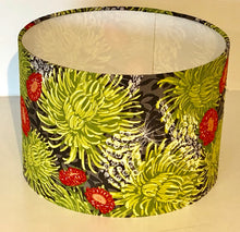 Load image into Gallery viewer, Lime Green Chrysanthemums Lamp Shade