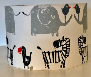 Jungle Animals Lamp Shade