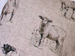 Linen Animal Cushion Range