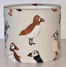 Load image into Gallery viewer, Cream Puffin Lamp Shade