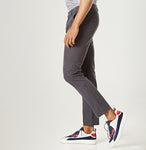 Ash Grey Tapered Chinos - Casual Chinos for Men