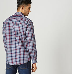 Plaid Me Grey