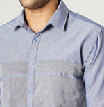 Grey Striker - Designer Shirt for Men