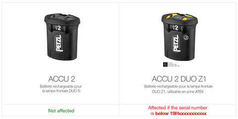 are other ACCU 2 batteries affected?