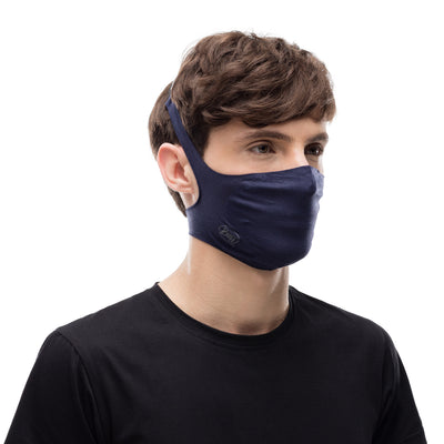BUFF - Filter Mask - Solid Night Blue