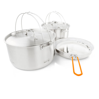 GSI - Glacier Stainless Troop Cookset