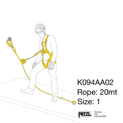 PETZL - ASAP LOCK FALL ARREST Kit