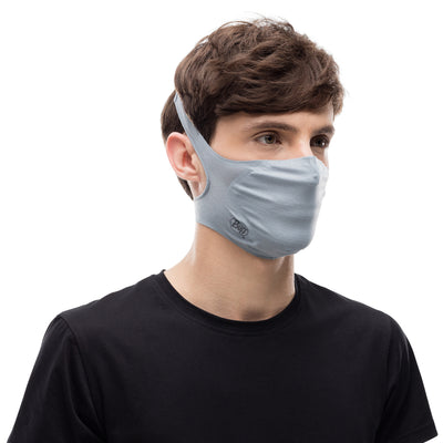 BUFF - Filter Mask - Solid Galactic Grey