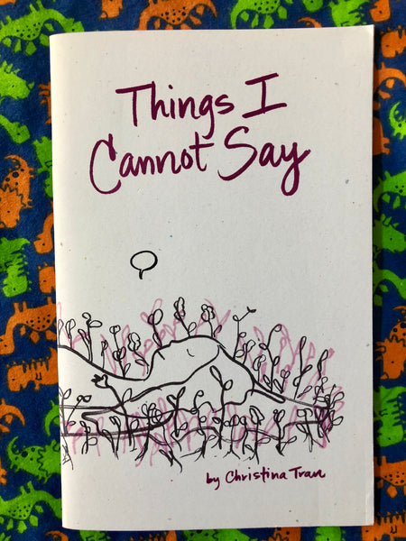 Things I Cannot Say