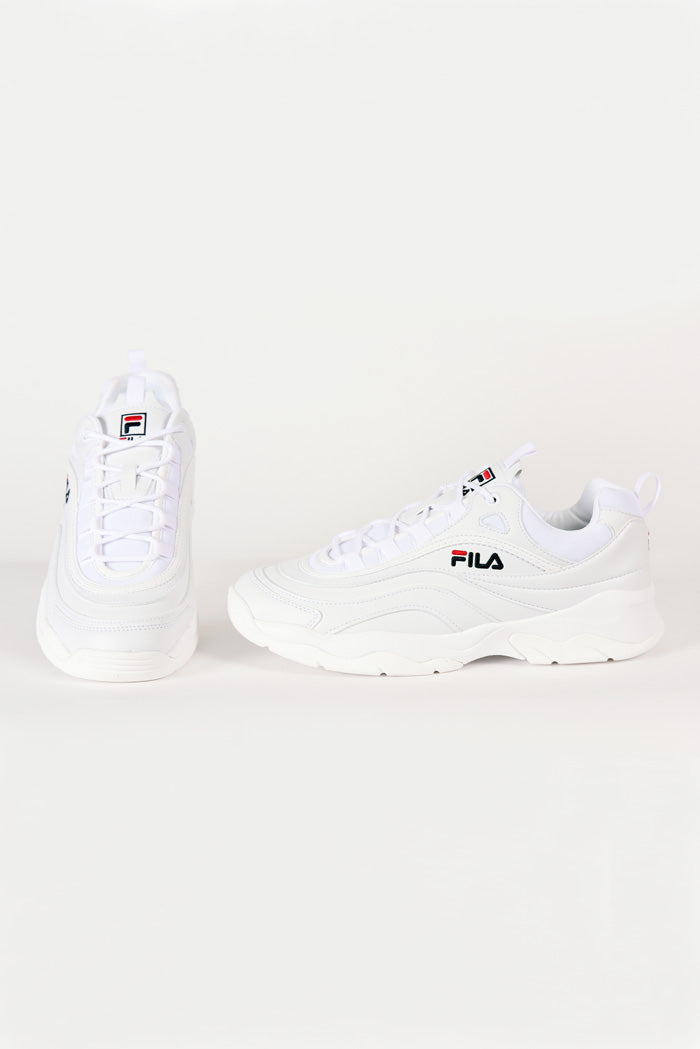 Fila - Ray Low Basket Homme - Blanc