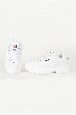 Fila - Disruptor Low Basket Homme - Blanc
