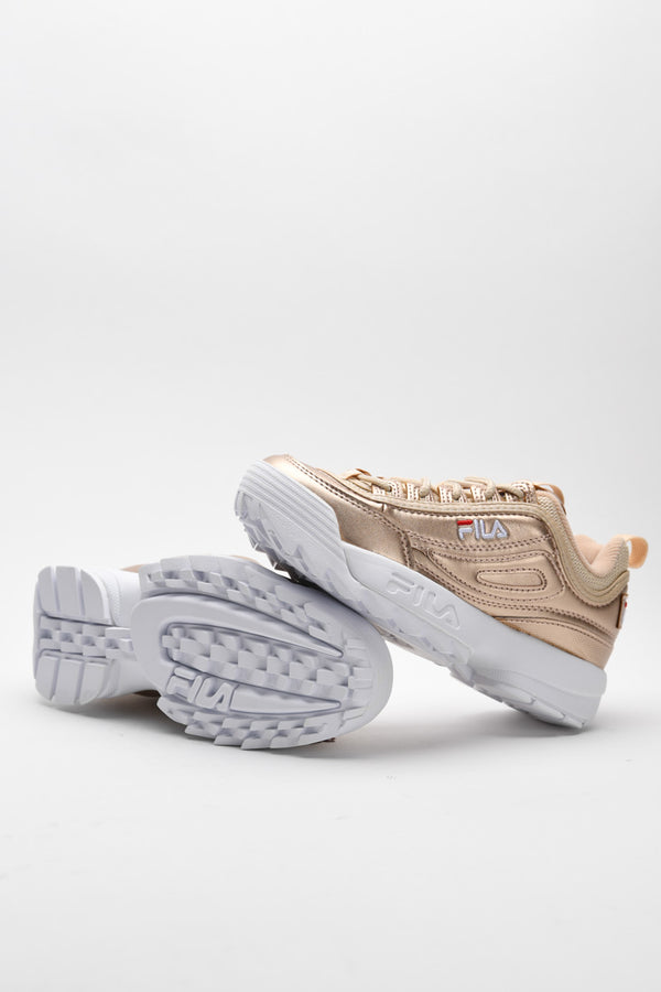 Fila - Disruptor MM Low Basket Femme - Or