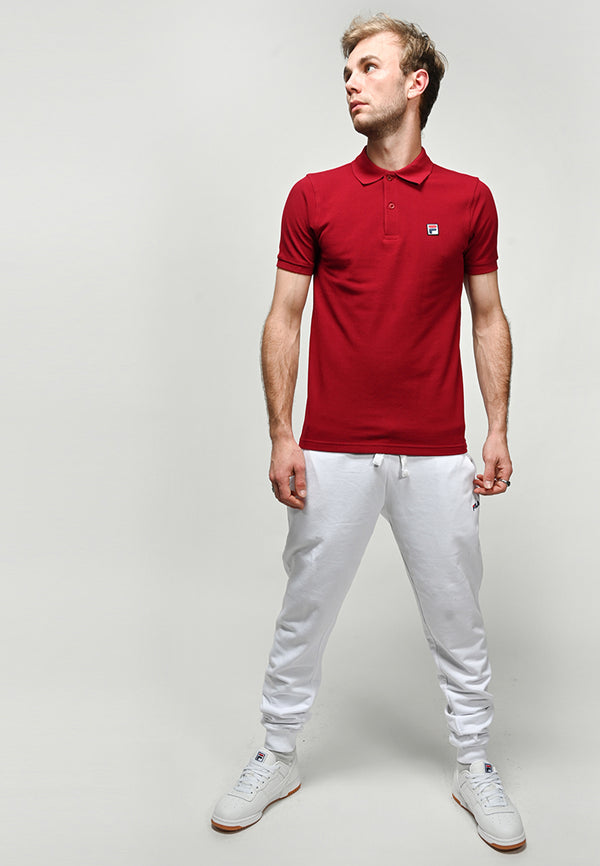 Fila - Edgar Polo Shirt - Bordeaux