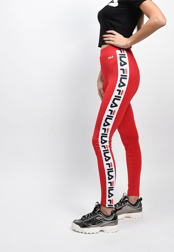 Fila - Holly Legging Femme - Rouge Vif