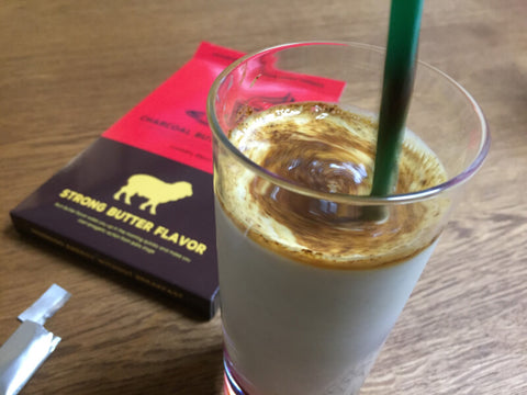 milk butter coffee