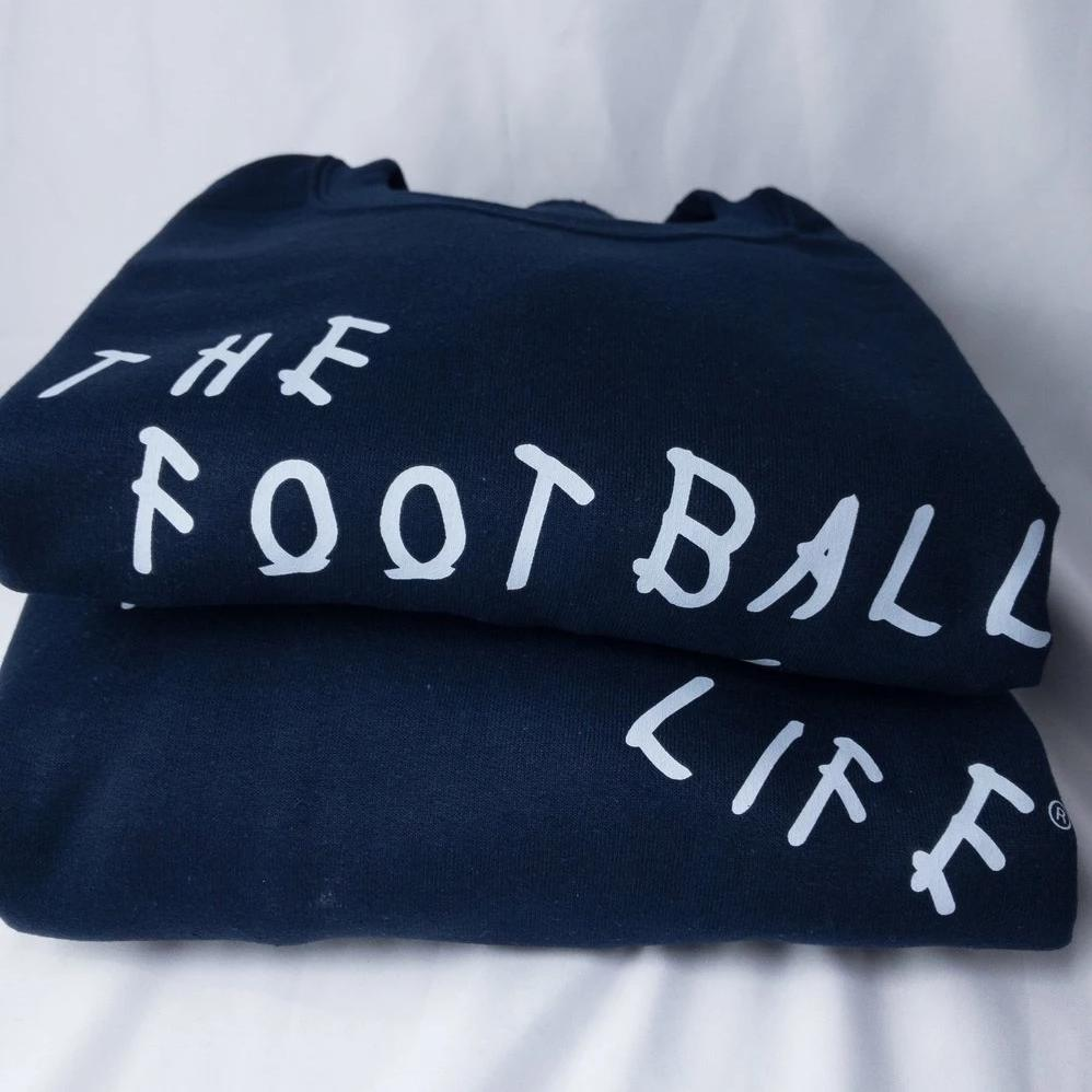 TIRED CREWNECK NAVY