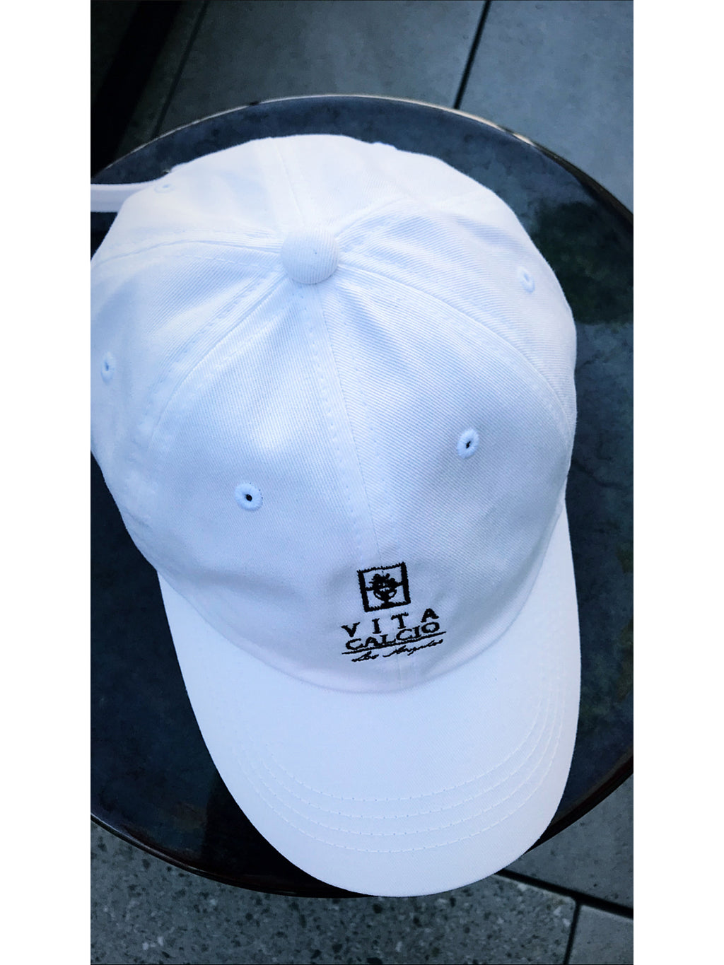 Vita Calcio Hommage Coach's Hat - White