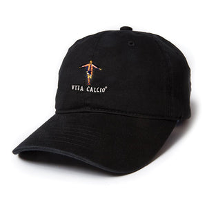 VITA CALCIO® LEGENDS NEVER DIE RONALDO - COACH'S HAT BLACK