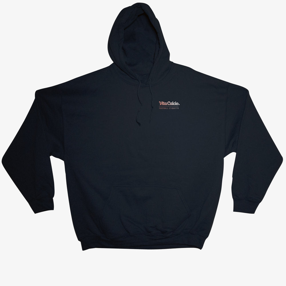 ON AND OFF THE PITCH PULLOVER HOODIE BLACK